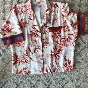 Joie Pajama Style Silk Shirt